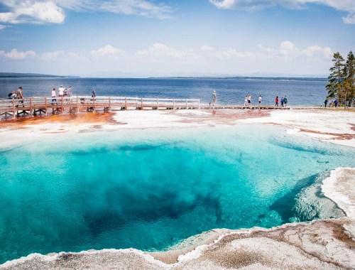 piscine bleue à west tumb