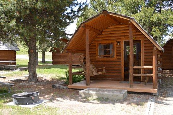 cabin au camping koa West Yellowstone