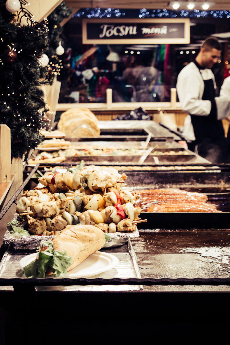 Brochettes street food budapest