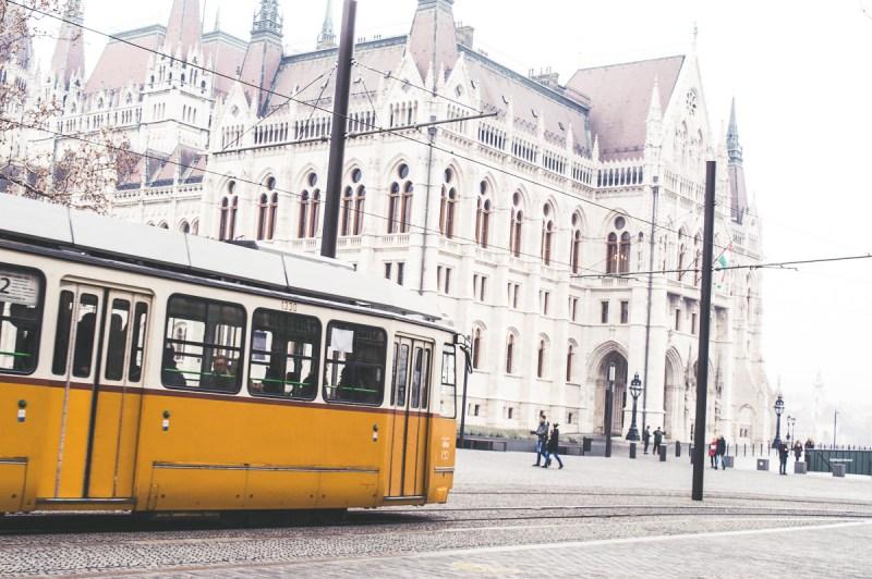 tram de Budapest