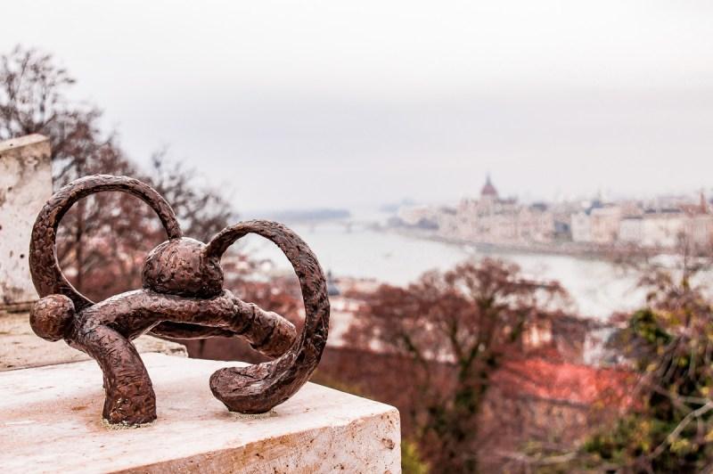 statue du bastion des pêcheurs