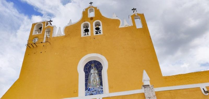 clocher du couvent d'izamal