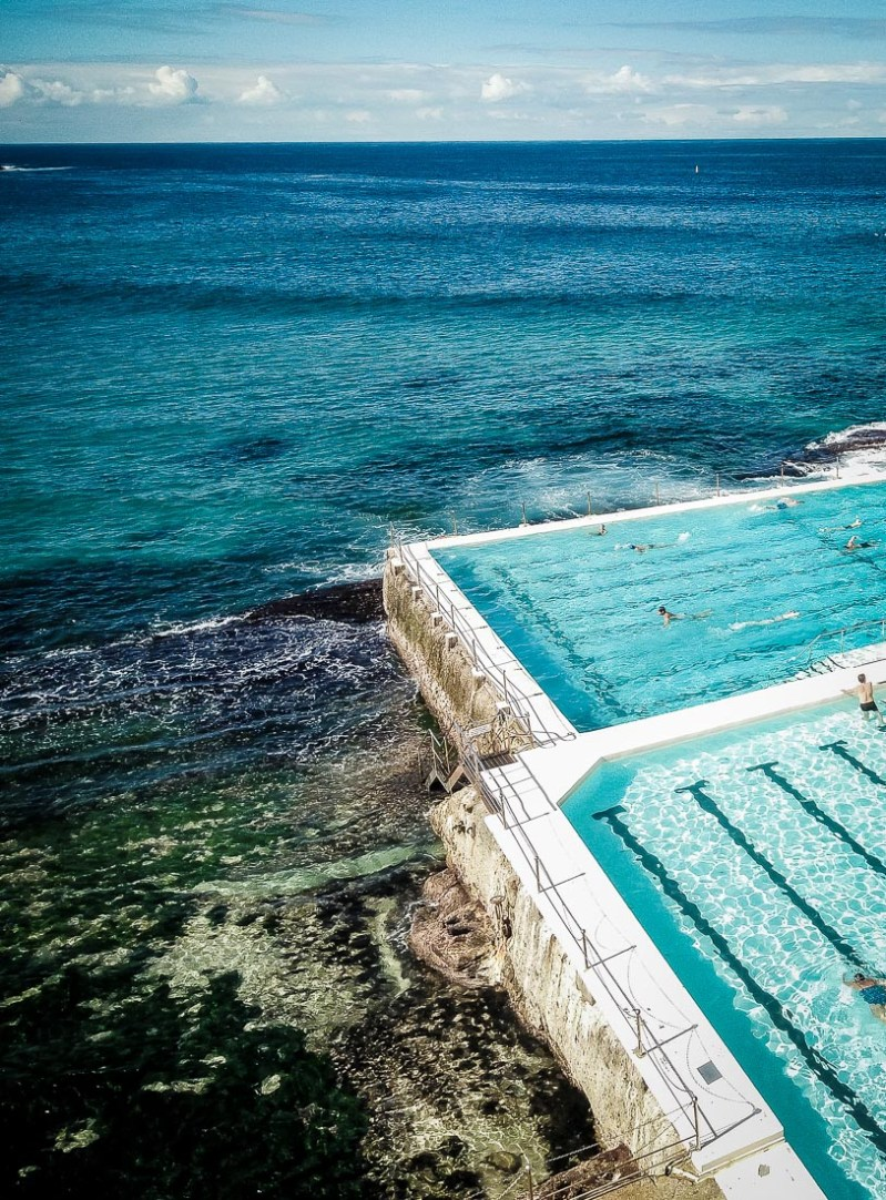piscine sur l'ocean à bondi