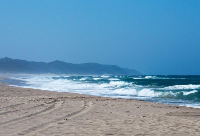 plage en Afrique du sud