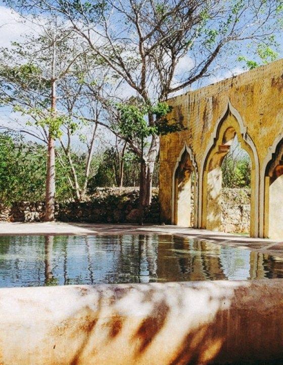 Hacienda San Pedro de Ochil : Déjeuner dans une ancienne exploitation agricole de Ki