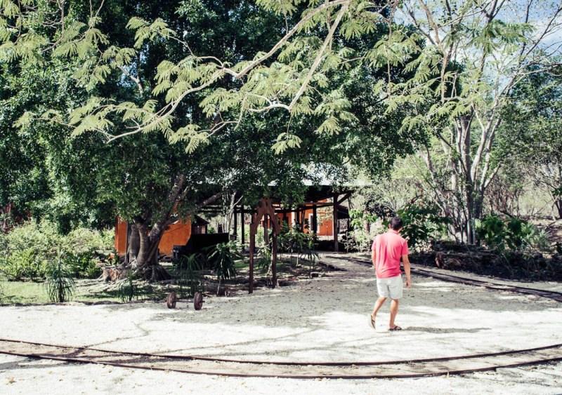 jardin de l'hacienda Pedro de Ochil