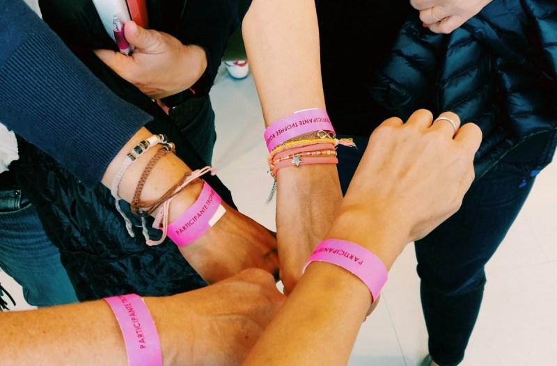 bracelets trophée roses des sables