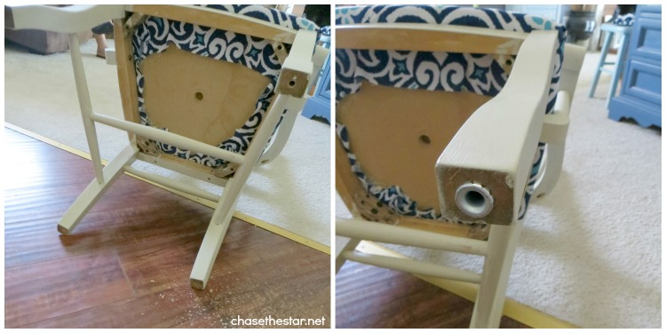 desk chair diy how to recover a dining room back school huge giveaway chair7 via hellolifeonline com backtoschool