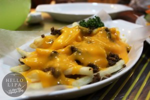Cheesy Beef Fries