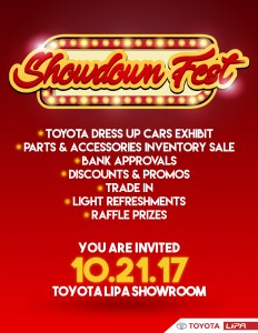 Toyota Lipa Showdown Fest
