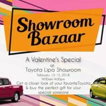 Showroom Bazaar – A Toyota Lipa Valentine's Special