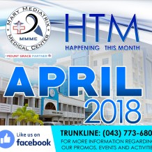 Happening this Month of April at the Mary Mediatrix Medical Center