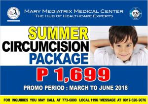 Summer Circumcision Package