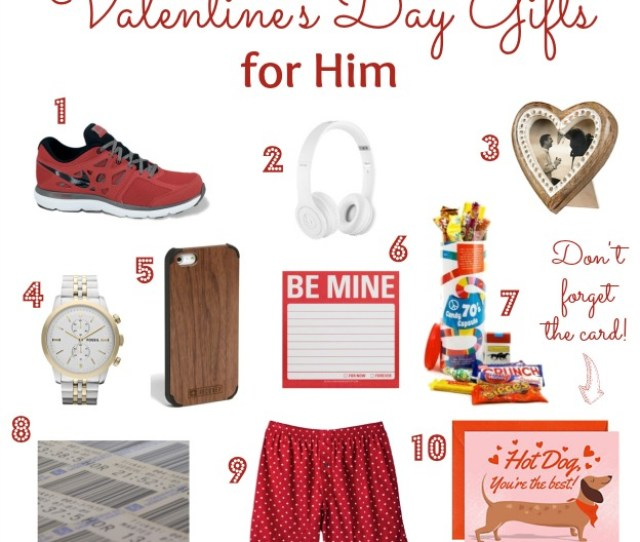 Valentines Day Gifts For Him Hello Little Home