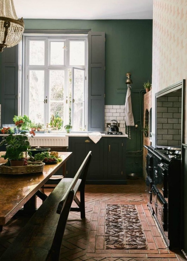 Dark Emerald Green Paint : emerald, green, paint, Green, Paint, Colors, Autumnal, Inspiration, Hello, Lovely