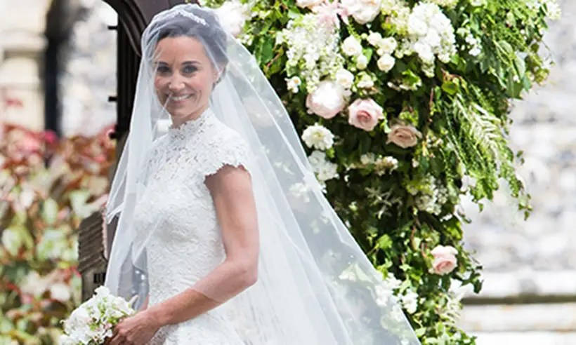Pippa Middleton Changed Into A Second Dress By Pronovias