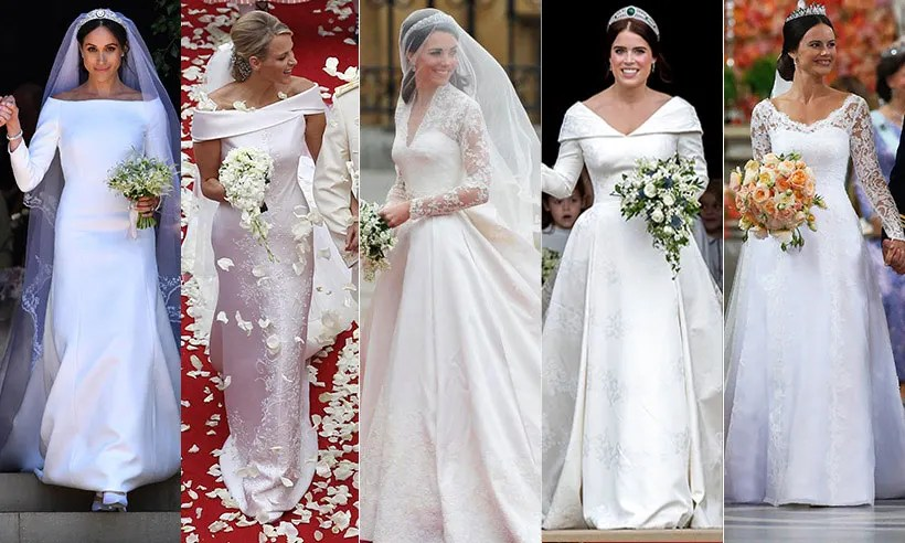 Royal Wedding Dresses: The Most Iconic Gowns In History