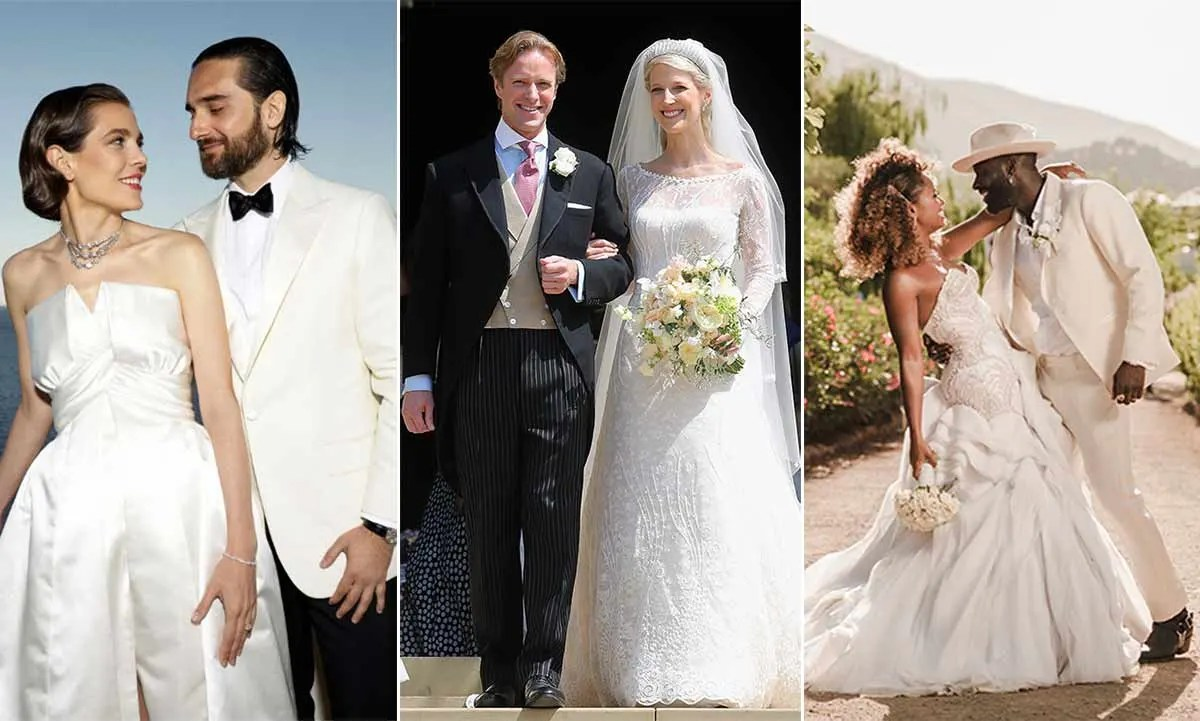 The Most Beautiful Celebrity Wedding Dresses Of 2019 So
