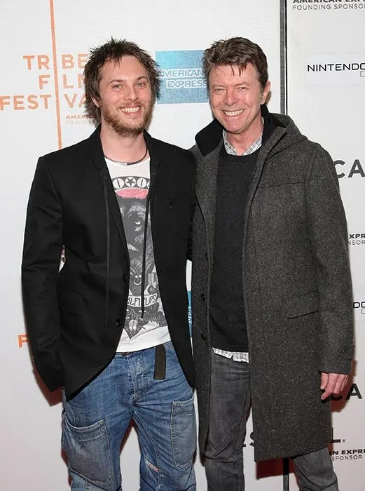 Duncan Jones David Bowie : duncan, jones, david, bowie, David, Bowie's, Become, Father, HELLO!