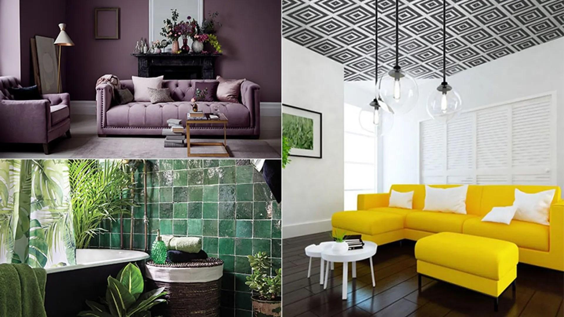 12 Interior Design Trends 2018