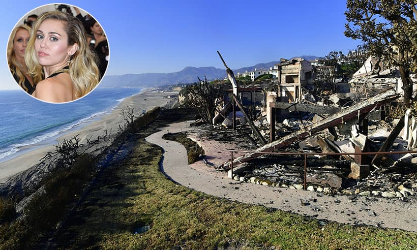 Miley Cyrus, Gerard Butler And More Stars Lose Homes To