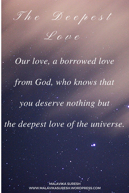 The deepest love