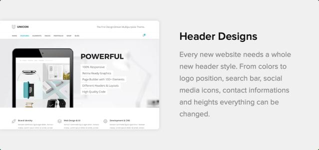 Unicon   Design-Driven Multipurpose Theme - 30