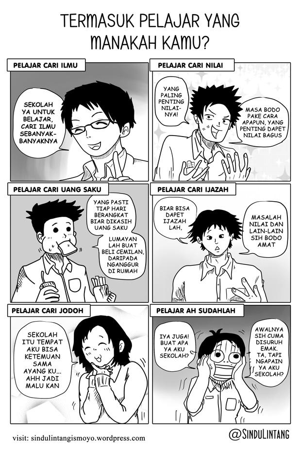 Komik Pendek Pendidikan : komik, pendek, pendidikan, Contoh, Komik, Pendidikan, Mudah, Digambar