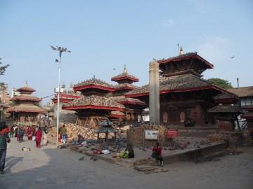 Temples at Durbar Square
