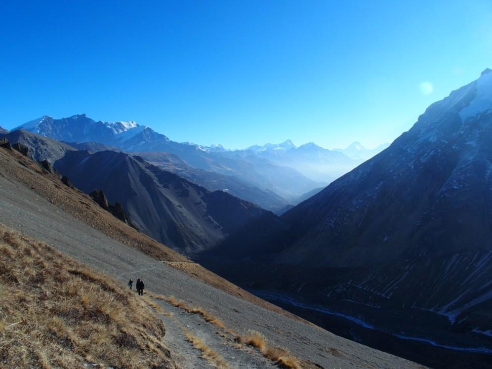 Path & mountains