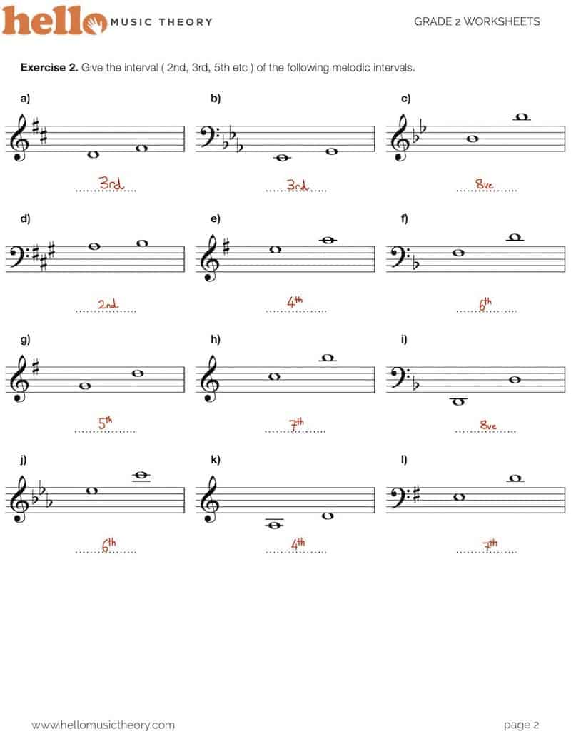 medium resolution of Grade 2 Music Theory Worksheets   HelloMusicTheory