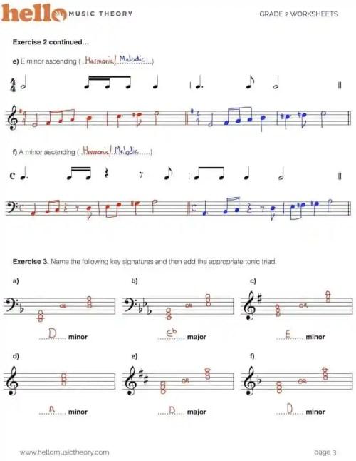 small resolution of Grade 2 Music Theory Worksheets   HelloMusicTheory