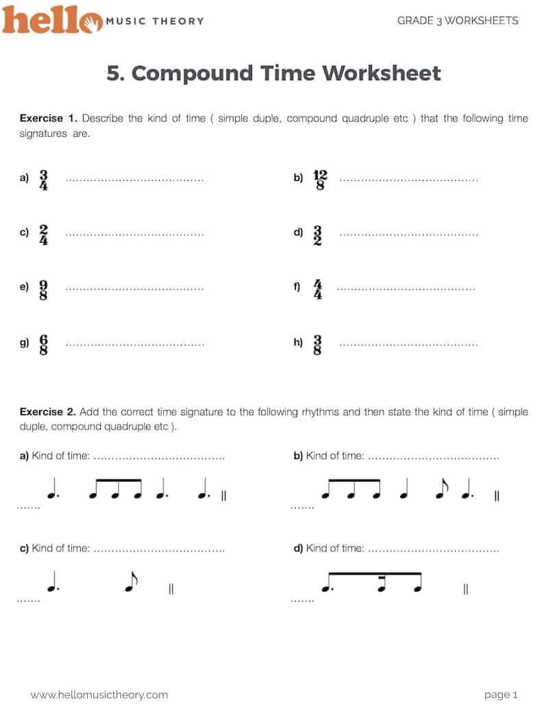 hight resolution of Grade 3 Music Theory Worksheets   HelloMusicTheory