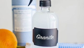 DIY Natural Granite Cleaner with Essential Oils