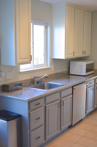 cheap kitchen cabinets how to decorate two tone painted hello nutritarian diy painting galley layout remodel ideas mymommatoldme