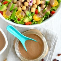 Dr. Fuhrman's No-Oil Walnut Vinaigrette Dressing