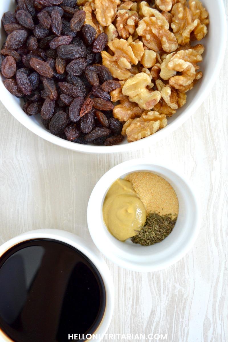 Dr Fuhrman Walnut Balsamic Vinaigrette ingredients No Oil Vegan Salad Dressing Recipe Blender Vitamix