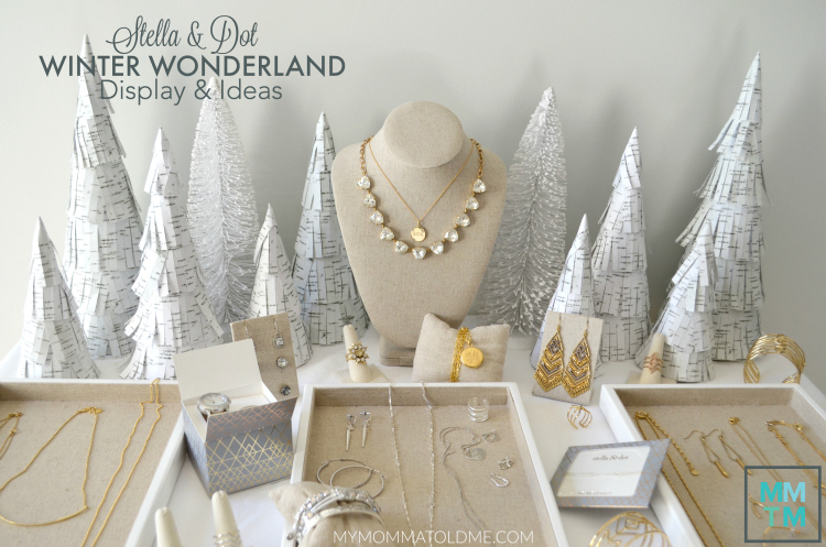 Stella & Dot Pop Up Shop Displays