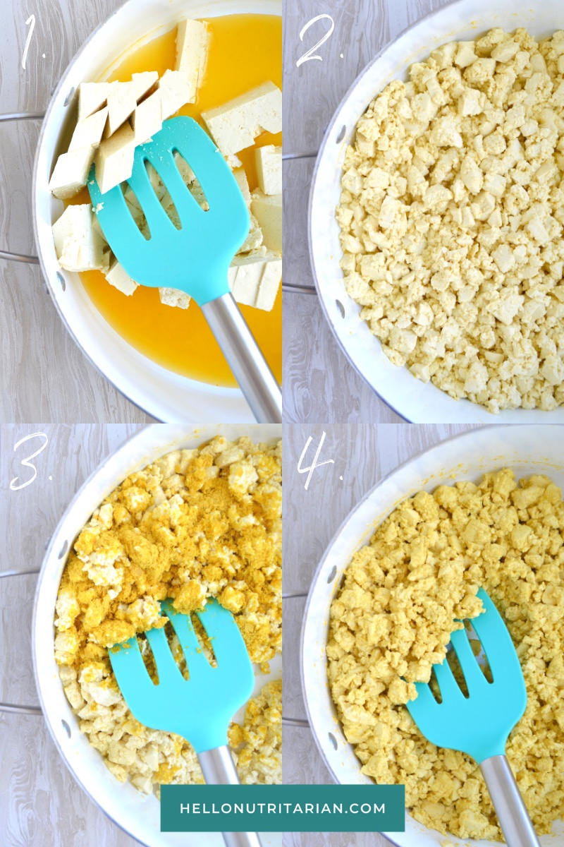 Hello Nutritarian Oil Free Scrambled Eggs How To Recipe Vegan Keto