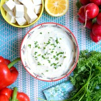 No-Oil Tofu Ranch Dressing