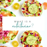 What is a Nutritarian?
