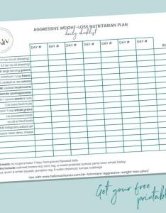 Dr fuhrman eat to live week plan aggressive weight loss nutritarian daily checklist free also   hello rh hellonutritarian