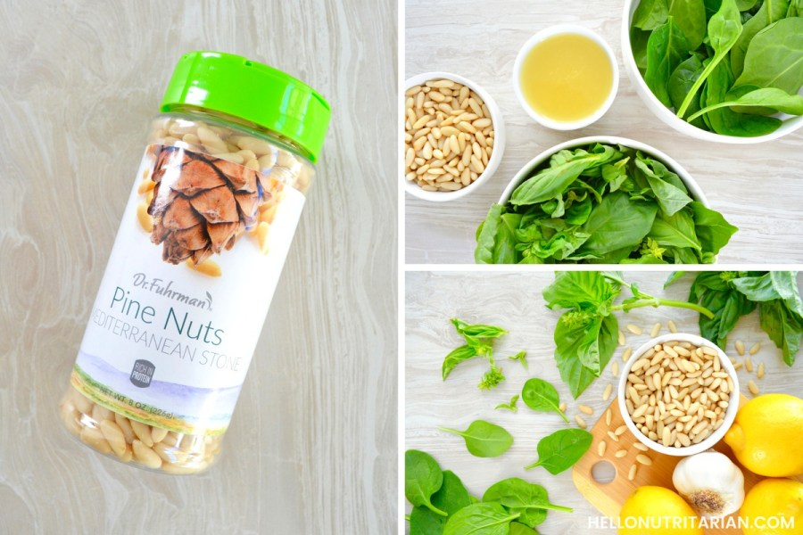 Dr Fuhrman Mediterranean Stone Pine Nuts Dr Fuhrman Product review Nutritarian Pesto Recipe Hello Nutritarian