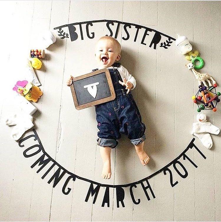 Las mejores ideas para anunciar la llegada de un segundo hijo