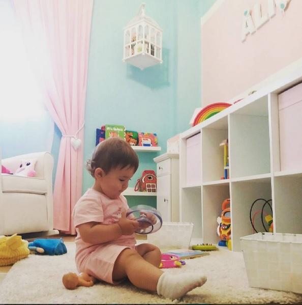 La habitación del bebé, por etapas