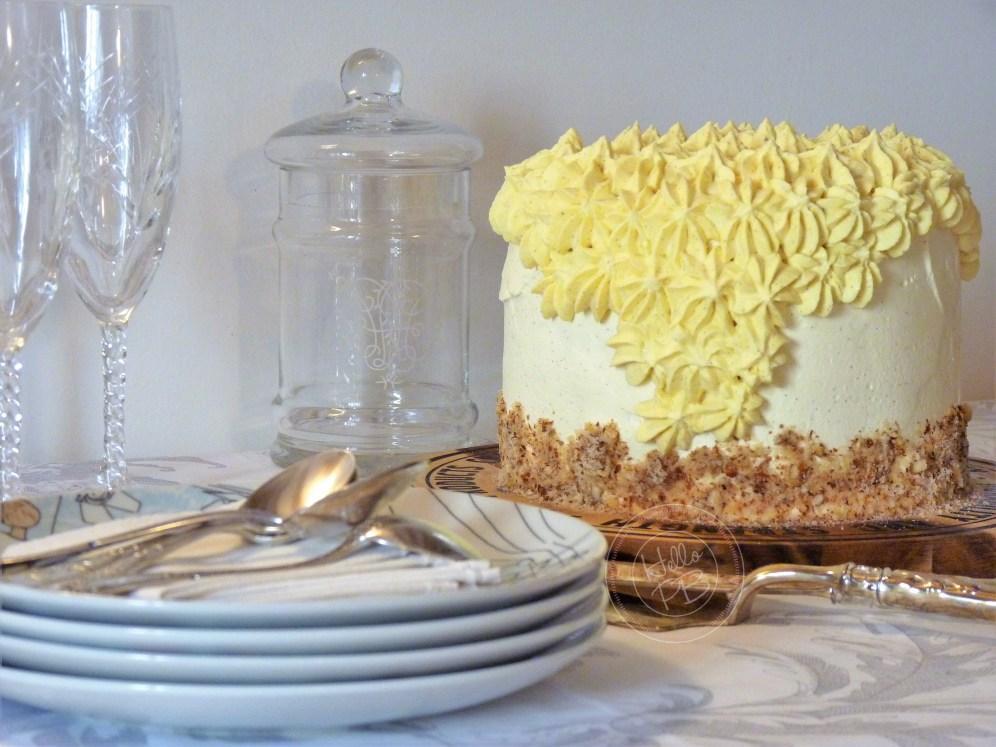 Gâteau étages au citron