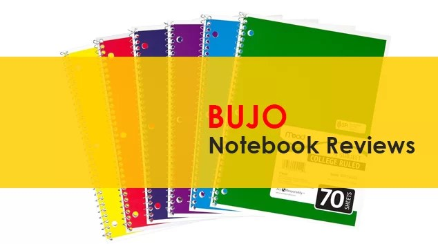 Best Bullet Journal Notebook Bujo 2018
