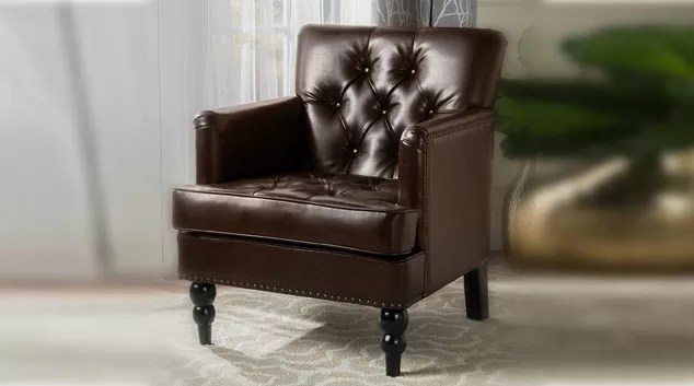 Christopher Knight Home Tufted Club Chair
