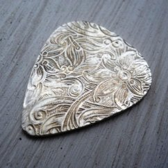 Kitchen Table With Leaf Remodel Small Plectrum Guitar Pick Sterling Silver By Thula