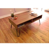 Retro Hairpin Coffee Table by Kurve Designs